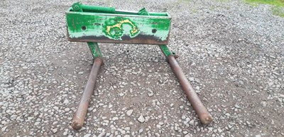 Lot 59 - Mc Hale Spiked Round Bale Handler with Rollers - VAT
